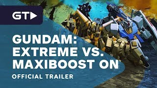 Mobile Suit Gundam Extreme VS. Maxiboost On - Announce Trailer by GameTrailers