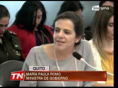 El 12 de octubre estuvo planificado un golpe de estado, según ministra Romo