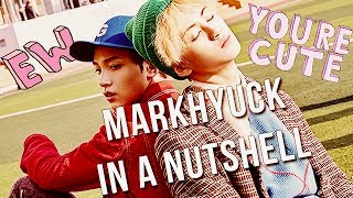 GUYYYYYYYYYYYYSSSSSSS THE VIDEO OF MARKYUCK IN A NUTSHELL (OR MARKCHAN) THAT IS NOT A NUTSHELLHope you enjoy itI had so much fun making this videoThey have the best friendship out there
