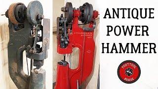 Video 1920s Power Hammer [Restoration] (Part 2) MP3, 3GP, MP4, WEBM, AVI, FLV Maret 2019