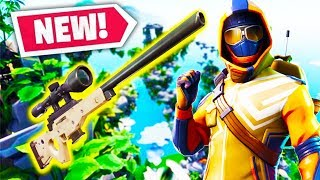 SKY ISLAND LOW GRAVITY SNIPERS CHALLENGE *NEW* Custom Minigame in Fortnite Battle Royale!
