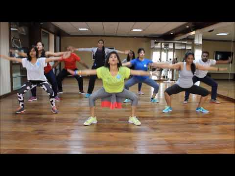Zumba Warm-up on Sean Paul She Doesn't Mind Remix by Vijaya