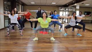 Zumba Warm-up on Sean Paul She Doesn't Mind Remix by Vijaya Video