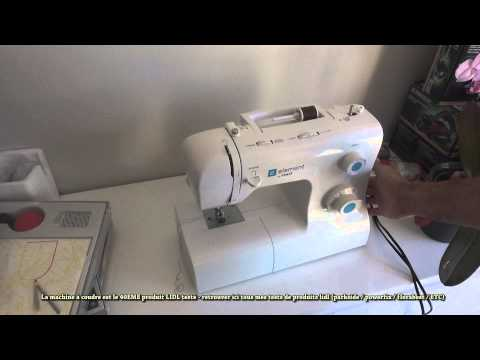 machine a coudre lidl pfaff test couture (rapide !) singer tradition 2282