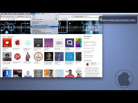 Autorizar o Retirar autorización a un Mac