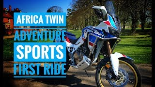 6. 2018 Honda CRF1000L Africa Twin Adventure Sports Review