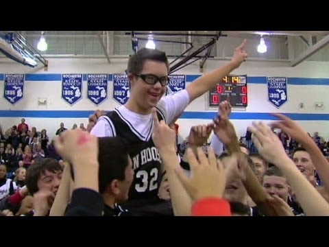 Watch video Down Syndrome High School Students Makes Wonderful Basketball Plays