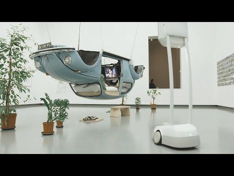 Telepressent robot in