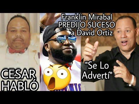 Franklin Mirabal Le Advirtió a David Ortiz sobre discotequear tanto... CESAR habla sobre David Ortiz