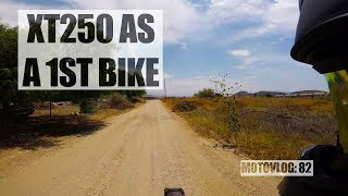 4. Yamaha XT250 Motovlog 81: The XT250 as a first bike (revisited)
