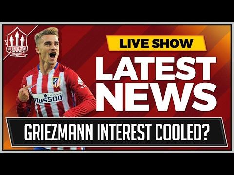 UNITED Cool Interest In GRIEZMANN I MAN UTD TRANSFER NEWS