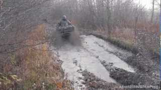 9. Arctic Cat Mud Pro vs 2013 Can-Am Outlander XMR: Upset!