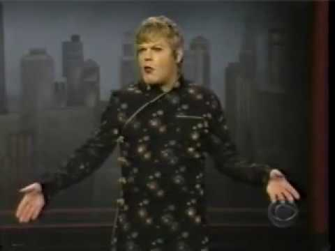Neil Armstrong Moon Landing Sketch! Eddie Izzard 2nd Appearance on Letterman March 1998