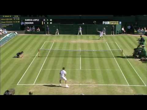 Guillermo Garcia-Lopez vs Roger Federer