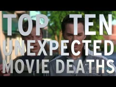 Top 10 Unexpected Movie Deaths (видео)