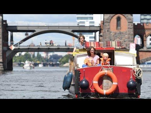 Mit dem Hausboot durch Berlin: Spree & mehr