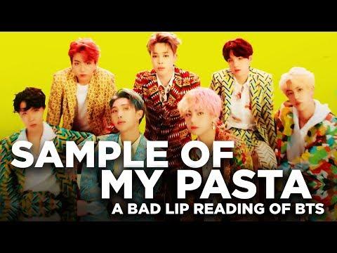 """SAMPLE OF MY PASTA"" — A Bad Lip Reading of BTS"