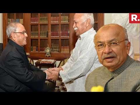 Former UPA Minister Sushilkumar Shinde Backs Pranab Mukherjee On Accepting Invite To RSS Event