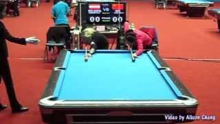 2012 World 9-Ball China Open - Jasmin Ouschan Vs D.D. Zhou周豆豆 Part 1