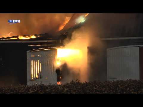 Brand verwoest schuur Willemsoord