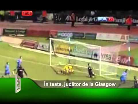 În teste, jucător de la Glasgow