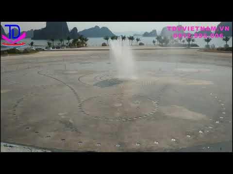 Chạy Thử Nhạc Nước Âm Sàn KĐT Phương Đông - Vân Đồn - QN