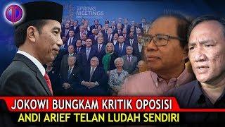 Video Makjleb! Jokowi Bungk4m Kr!tik Opo$isi Soal IMF-WB! Andi Arief Telan Ludah Sendiri MP3, 3GP, MP4, WEBM, AVI, FLV Oktober 2018