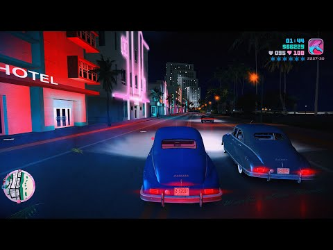 Grand Theft Auto Vice City 8K Ultra Graphics Gameplay Part 13 - GTA VC PC 8K 60FPS
