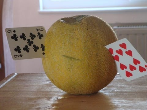 當電影裡的撲克牌高手出現在現實世界!?