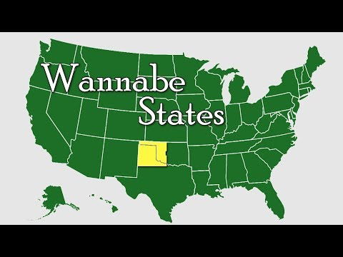 Wannabe States of the United States