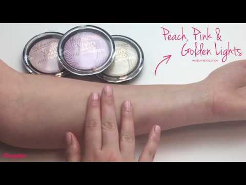 Makeup Revolution Makeup Revolution Highlighters Peach Lights