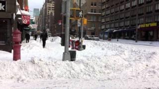 Neve em NY
