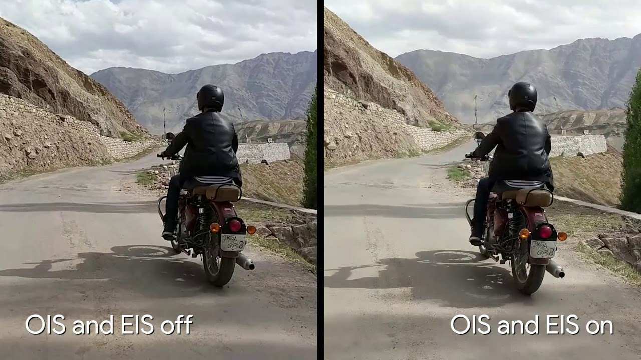 Pixel 2 Video Stabilization