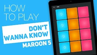 Video How to play: DON'T WANNA KNOW (Maroon 5) - SUPER PADS - Bugs Kit download in MP3, 3GP, MP4, WEBM, AVI, FLV Mei 2017