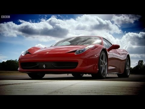 ferrari 458 vs ferrari 430 - top gear