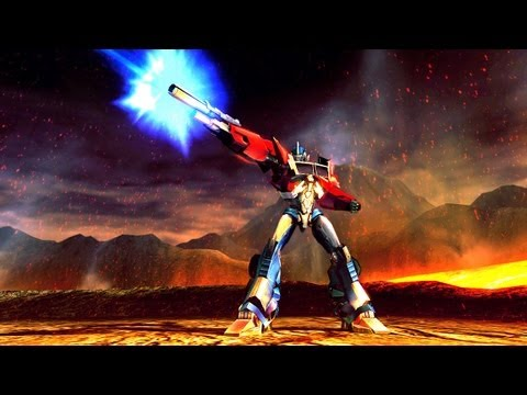 transformers prime the game wii gameplay
