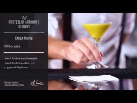 Ravifruit Garden Martini kokteilis