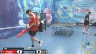 Егоров К. vs Герасименко А.