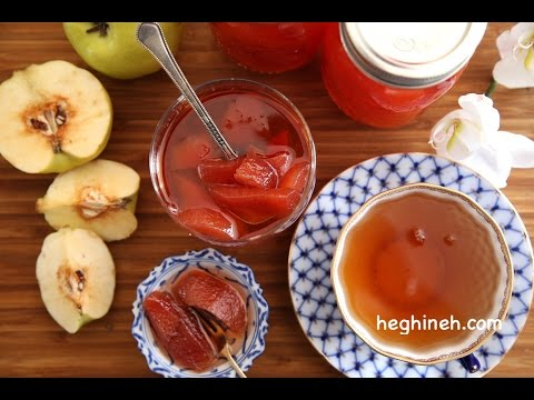 How To Make Quince Preserves - Fruit Preserves- Heghineh Cooking Show