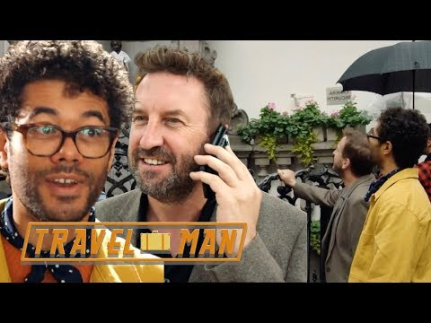 Richard Ayoade & Lee Mack's HILARIOUS 48hrs in Brussels   Travel Man