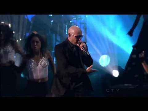 Pitbull ,HD, Don't Stop The Party, Live , American Music Awards 2012,HD 1080p