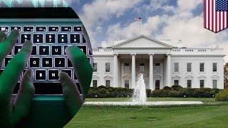 ホワイトハウスにサイバー攻撃 ロシア政府が関与か