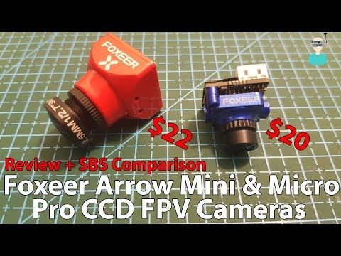 Foxeer Arrow Mini & Micro Pro FPV CCD Cameras