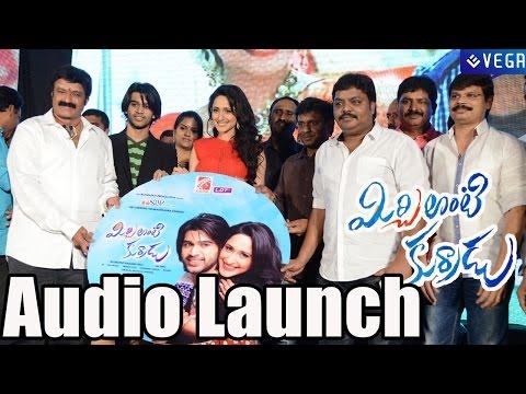 Mirchi Lanti Kurade Audio Launch - Abijeet, Pragya Jaiswal - Latest Telugu Movie 2014