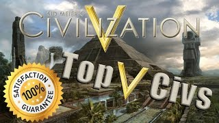 Video Top 5 Civilizations to Use in Sid Meier's Civilization V MP3, 3GP, MP4, WEBM, AVI, FLV Maret 2018