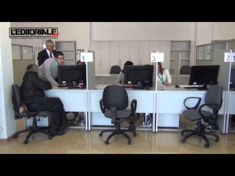 Inugurazione front office ricostruzione privata