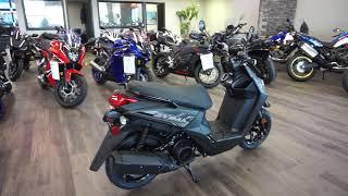 10. 2019 Yamaha Zuma 125 Black at Maxeys in Oklahoma City