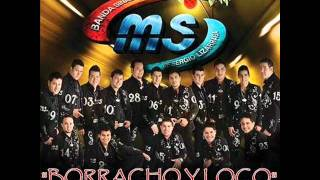 video y letra de Borracho y loco (audio) por Banda MS