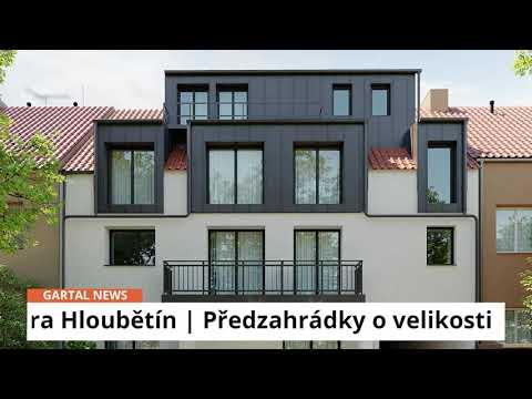 Video Byt 1+kk s předzahrádkou u stanice metra Hloubětín na Praze 9. Bytový projekt Viladům Hloubětín.