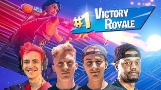 FaZe Clan, Ninja, & KingRichard Win 3 Fortnite Pro Scrims in a Row